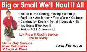 Long Island junk Removal Services